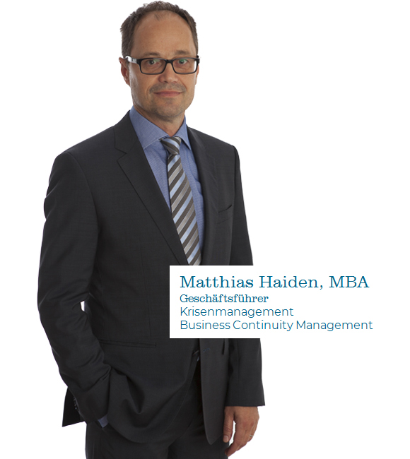 Matthias Haiden Business Continuity Management krisenmanagement Notfallmanagement Infraprotect