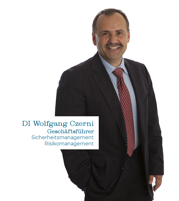 Wolfgang Czerni Sicherheitsmanagement Risikomanagement Infraprotect