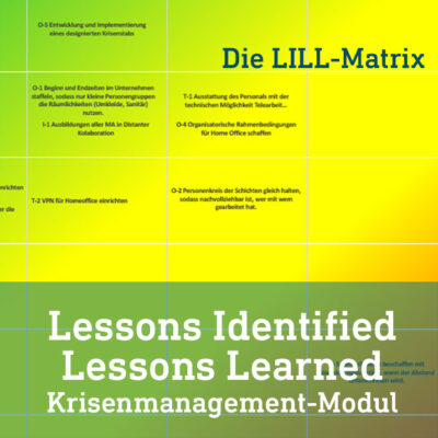 Lessons Identified Lessons learned modul LILL