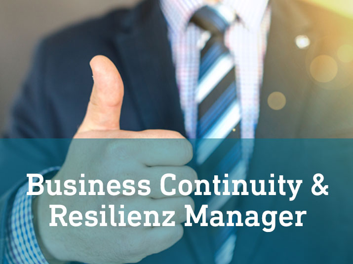 busness continuity resilienz manager