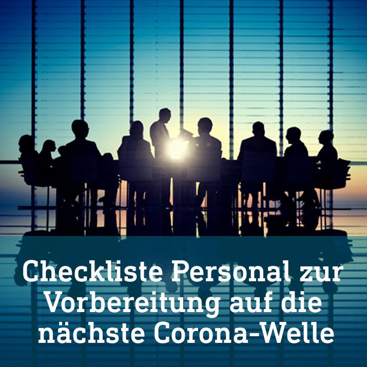 INFRAPROTECT® Checkliste Krisenmanagement Pandemie    Personal