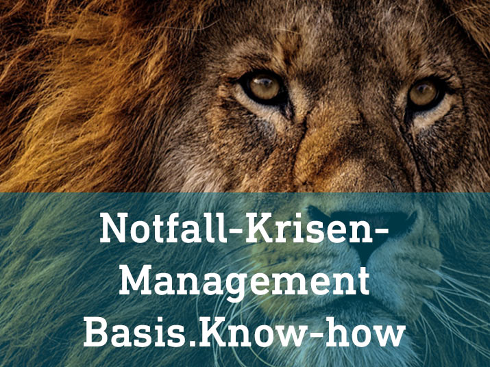 Löwe krise notfall management basis know how