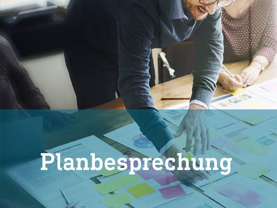 Planbesprechung | INFRAPROTECT